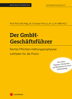 Der GmbH-Geschäftsführer von Fritz,  Christian