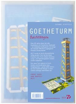 Der Goetheturm – Bastelbogen von Scheffels,  Susanne