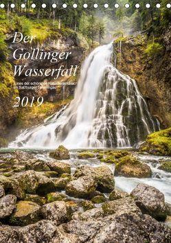 Der Gollinger Wasserfall (Tischkalender 2019 DIN A5 hoch) von Reicher,  Thomas