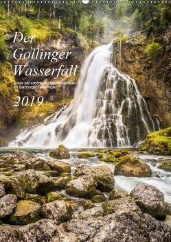 Der Gollinger Wasserfall (Wandkalender 2019 DIN A2 hoch) von Reicher,  Thomas