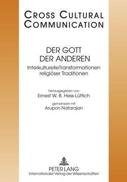 Der Gott der Anderen von Hess-Lüttich,  E.W.B., Natarajan,  Aru Pon