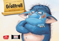 Der Grolltroll by aprilkind. Kamishibai Bildkartenset. von aprilkind, Pricken,  Stephan, van den Speulhof,  Barbara