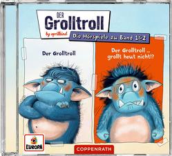 Der Grolltroll & Der Grolltroll … grollt heut nicht!? (CD) von by aprilkind, Hohage,  Kai, Pricken,  Stephan, Speulhof,  Barbara van den