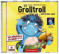 Der Grolltroll will Erster sein & Der Grolltroll – Schöne Bescherung! (CD) von aprilkind, Hohage,  Kai, Pricken,  Stephan, van den Speulhof,  Barbara