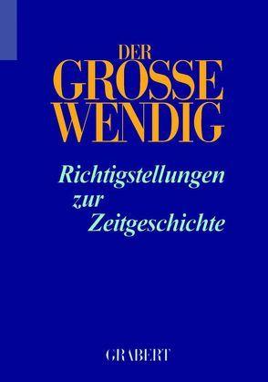 Der Große Wendig Band 5 von Kosiek,  Rolf, Rose,  Olaf