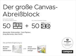 Der große Canvas-Abreißblock von Bernarda,  Gregory, Osterwalder,  Alexander, Pigneur,  Yves, Smith,  Alan