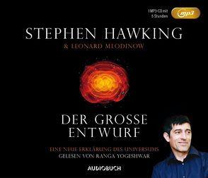 Der große Entwurf (MP3-CD) von Hawking,  Stephen, Kober,  Hainer, Mlodinow,  Leonard, Yogeshwar,  Ranga, Zimber,  Corinna