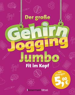 Der große Gehirnjogging-Jumbo – bestes Training für den Kopf von Krüger,  Eberhard