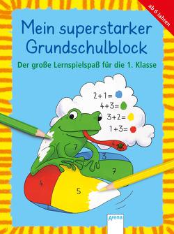 Der große Lernspielspaß für die 1. Klasse von Pätz,  Christine, Reimers,  Silke