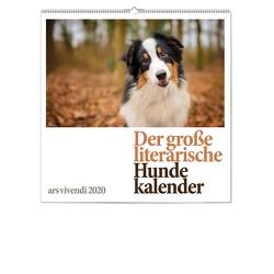 Der große literarische Hunde-Kalender 2020 von -