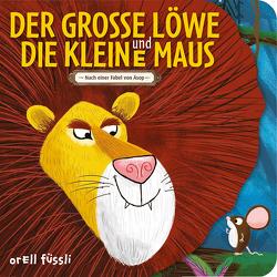 Der grosse Löwe und die kleine Maus von Blackledge,  Annabel, Jevons,  Chris