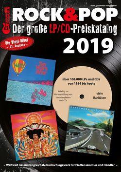 Der große Rock & Pop LP/CD Preiskatalog 2019 von Leibfried,  Fabian, Reichold,  Martin