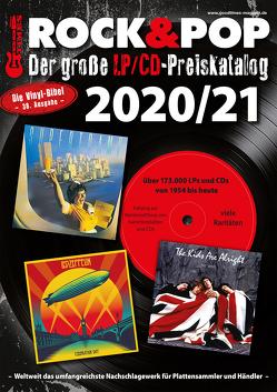 Der große Rock & Pop LP/CD Preiskatalog 2020/21 von Leibfried,  Fabian, Reichold,  Martin