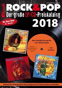Der große Rock & Pop LP/CD Preiskatalog 2018 von Leibfried,  Fabian, Reichold,  Martin