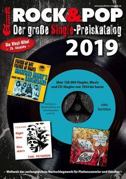 Der große Rock & Pop Single Preiskatalog 2019 von Leibfried,  Fabian, Reichold,  Martin