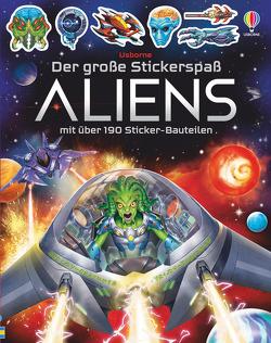 Der große Stickerspaß: Aliens von Studios,  Gong, Tudhope,  Simon