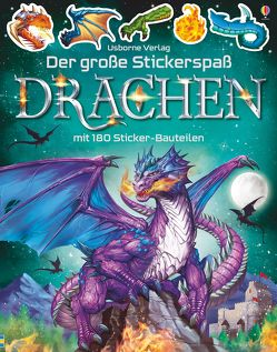 Der große Stickerspaß: Drachen von Studios,  Gong, Tudhope,  Simon