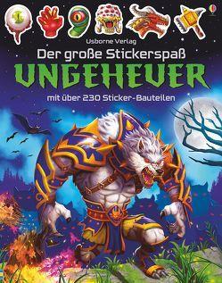 Der große Stickerspaß: Ungeheuer von Studios,  Gong, Tudhope,  Simon