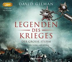 Der große Sturm (Legenden des Krieges IV, 2 MP3 CDs) von Berger,  Wolfgang, Gilman,  David, Windgassen,  Michael