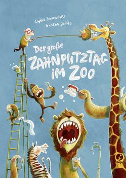 Der große Zahnputztag im Zoo (Mini-Ausgabe) von Jakobs,  Günther, Schoenwald,  Sophie