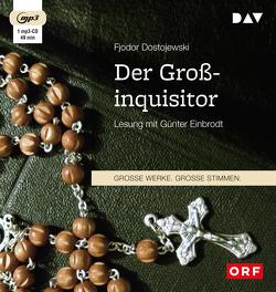 Der Großinquisitor (1 mp3-CD) von Dostojewski,  Fjodor, Einbrodt,  Günter, Kassner,  Rudolf