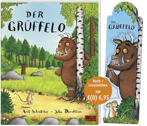 Der Grüffelo – Buch mit Magnetlesezeichen von Donaldson,  Julia, Osberghaus,  Monika, Scheffler,  Axel