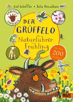Der Grüffelo-Naturführer Frühling von Donaldson,  Julia, Pfeiffer,  Fabienne, Scheffler,  Axel