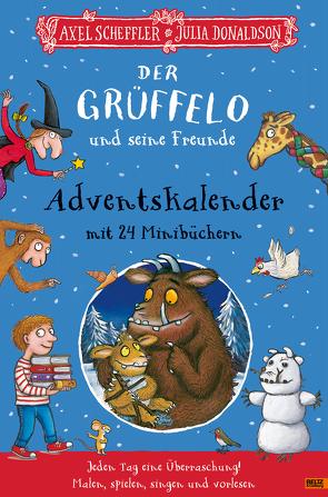 Der Grüffelo und seine Freunde. Adventskalender mit 24 Minibüchern von Donaldson,  Julia, Scheffler,  Axel