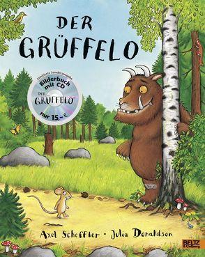 Der Grüffelo + CD von Donaldson,  Julia, Osberghaus,  Monika, Scheffler,  Axel