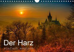 Der Harz einfach magisch (Wandkalender 2019 DIN A4 quer) von Wenske,  Steffen