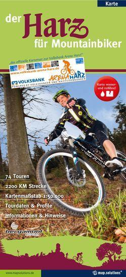 Der Harz für Mountainbiker von mapsolutions GmbH,  Agentur & Verlag