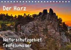Der Harz, Naturschutzgebiet Teufelsmauer (Tischkalender 2019 DIN A5 quer) von Kühne,  Daniel
