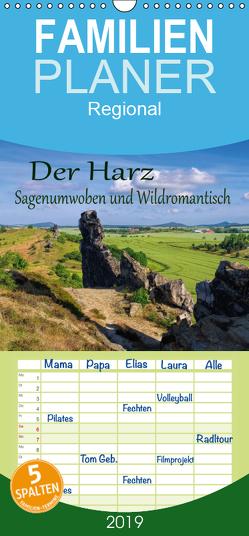 Der Harz – Sagenumwoben und Wildromantisch – Familienplaner hoch (Wandkalender 2019 , 21 cm x 45 cm, hoch) von LianeM