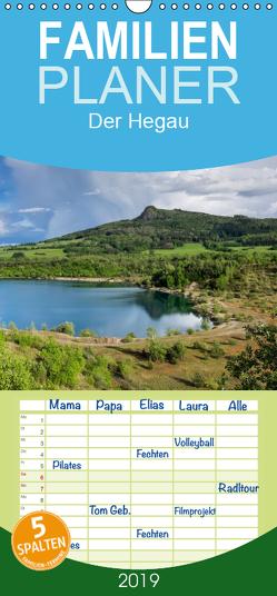 Der Hegau – Wanderparadies am westlichen Bodensee – Familienplaner hoch (Wandkalender 2019 , 21 cm x 45 cm, hoch) von Keller,  Markus