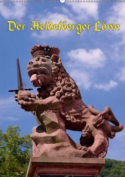 Der Heidelberger Löwe (Wandkalender 2019 DIN A2 hoch) von Burkhardt,  Bert