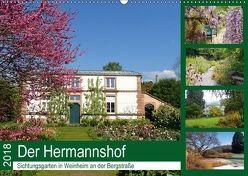 Der Hermannshof Sichtungsgarten in Weinheim an der Bergstraße (Wandkalender 2018 DIN A2 quer) von Andersen,  Ilona