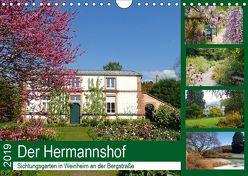 Der Hermannshof Sichtungsgarten in Weinheim an der Bergstraße (Wandkalender 2019 DIN A4 quer) von Andersen,  Ilona