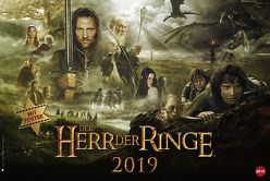 Der Herr der Ringe Broschur XL – Kalender 2019 von Heye