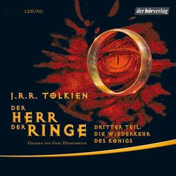 Der Herr der Ringe. Dritter Teil: Die Wiederkehr des Königs von Heidenreich,  Gert, Krege,  Wolfgang, Tolkien,  J.R.R.