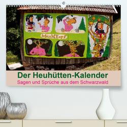 Der Heuhütten-Kalender (Premium, hochwertiger DIN A2 Wandkalender 2021, Kunstdruck in Hochglanz) von Weiler,  Michael