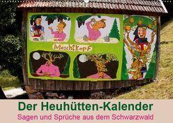 Der Heuhütten-Kalender (Wandkalender 2019 DIN A2 quer) von Weiler,  Michael