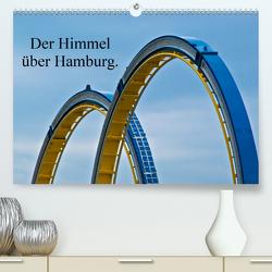 Der Himmel über Hamburg. (Premium, hochwertiger DIN A2 Wandkalender 2021, Kunstdruck in Hochglanz) von J. Sülzner [[NJS-Photographie]],  Norbert