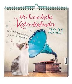 Der himmlische Katzenkalender 2021 von Wendler,  Heike