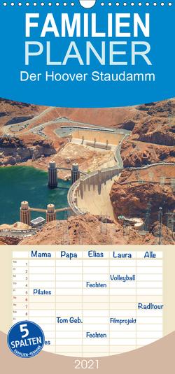 Der Hoover Staudamm – Familienplaner hoch (Wandkalender 2021 , 21 cm x 45 cm, hoch) von Krahn,  Volker