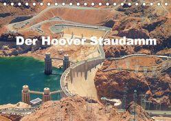 Der Hoover Staudamm (Tischkalender 2019 DIN A5 quer) von Krahn,  Volker