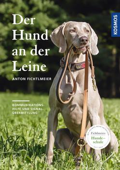 Der Hund an der Leine von Fichtlmeier,  Anton