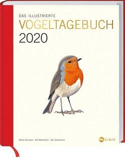 Das illustrierte Vogeltagebuch 2020 von Ottoson,  Mats, Zetterström,  Bill, Zetterström,  Dan
