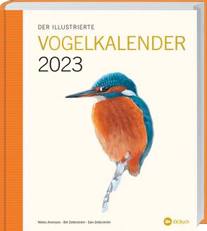 Der Illustrierte Vogelkalender 2023 von Niklas Aronsson,  Bill Zetterström ,  Dan Zetterström