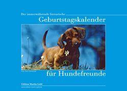 Der immerwährende literarische Geburtstagskalender für Hundefreunde von Brand,  Flinde, Körner,  Charlotte