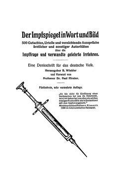 Der Impfspiegel in Wort und Bild